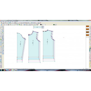 Automated Design System (CAPR) RICHPEACE Garment CAD